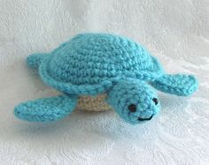 Sea turtle crochet.