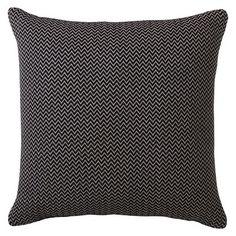 """Threshold™ Herringbone Toss Pillow (18x18"""") (Chevron effect) - Navy"""