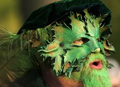 The Green Man! Morris dancers celebrate the May in Minneapolis (thanks, minnesota.publicradio.org)