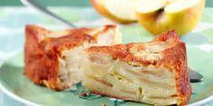 Gâteau au yaourt et pommes avec Thermomix, un gâteau que vous allez adorer facile et délicieux pour votre goûter en famille , faites-le facilement avec votre thermomix et cette recette!