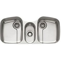 Franke PAX 170 Triple Basin Stainless Steel Kitchen Sink featuring Highly Polished Satin Finish