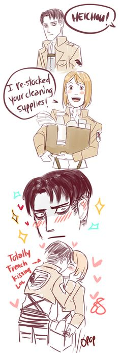I WILL NOT KILL ANNIE CUZ SHE TOOK OUT THE LEVI SQUAD, NOT CUZ SHES A FREAKIN TITAN BUT CUZ SHE DYSTROYED MY OTP #levixpetra