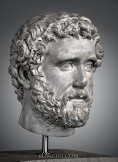 Roman Sculpture, Stone Sculpture, Ancient Rome, Ancient Art, Antoninus Pius, Roman Man, The Bible Movie, West Art, Roman History