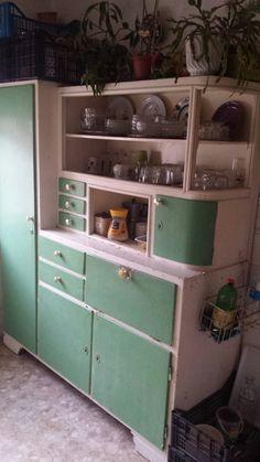 Kitchen Dresser, Socialism, Dressers, Vintage Kitchen, Vape, Cabinets, Nostalgia, Memories, Furniture