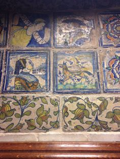 Medieval tiles in the Vyne chapel | Medieval tiles | Pinterest
