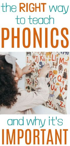 The Right Way to Teach Phonics (And Why It's Important)