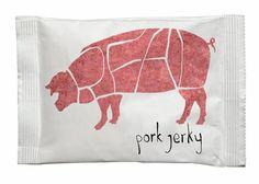 Real Meat Jerky / Design : Oleg Safronov, étudiant de l'école BHSAD, Russie (2013)