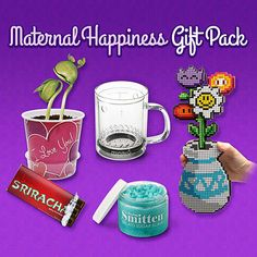 The 'Maternal Happiness Gift Pack' Includes Geek-Friendly It trendhunter.com