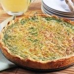 Spinach-Ricotta Quiche