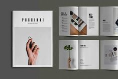 Pochinky - Brochure Template by dirtylinestudio on Envato Elements Brochure Cover Design, Brochure Layout, Indesign Brochure Templates, Business Templates, How To Make Brochure, Flyer And Poster Design, Book Design Layout, Design Design, Print Design