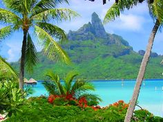 staring out at Mt.Otemanu from the resort (18132869) 3 Bora Bora, Society Islands