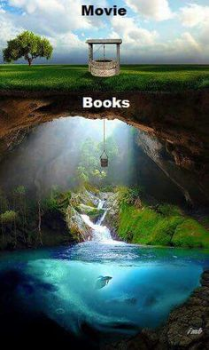Movies of books only graze the surface of the story