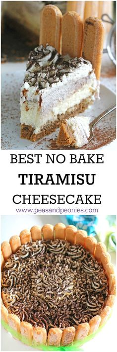 {AD} No Bake Tiramisu Cheesecake is a fool-proof recipe of your favorite Italian dessert. Incredibly creamy, rich and delicious, this will become a favorite. Pairs perfectly with @davinciwine. Msg4 21+
