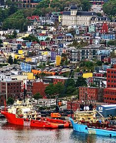 I've always been attracted to places colorful and magical places, like forests, colorful cities or beautiful temples. These are some of the most colorful and magical places from around the world! Places Around The World, Oh The Places You'll Go, Places To Travel, Places To Visit, Around The Worlds, Travel Destinations, Ottawa, Newfoundland Canada, Newfoundland And Labrador