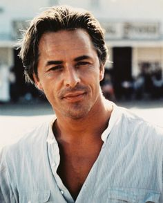 Crushes I Don't Tell My Friends About, Til Now: Part VI: Don Johnson  Yeah, he's probably way too into himself, but Don Johnson was one of my early crushes. I will always have a fondness for Crockett, that killer smile, and those bedroom eyes.  - The Long Hot Summer Photo
