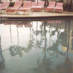 Polaroid Photograph - Summer - Swimming Pool - Polaroid Pool Photograph…