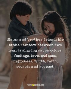 Brother Sister Relationship Quotes, Bro And Sis Quotes, Best Brother Quotes, Brother Sister Love Quotes, Brother Birthday Quotes, Birthday Cards For Brother, Best Friend Quotes Funny, Funny Quotes, Good Thoughts Quotes