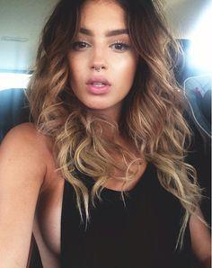 i love this hair color, honey blonde highlights, andreasdiamonddolls: .