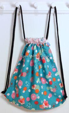 Ref. ML47- Davant de motxilla, de tela - Delante de mochila, de tela - Drawstring backpack, front, of fabric... aprox. 36 x 36cm VENUDA-VENDIDA-SOLD OUT