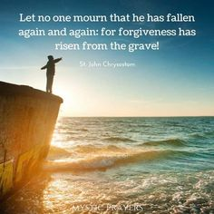 John Chrysostom, Forgiveness, Catholic, Let It Be, Beach, Water, Outdoor, Gripe Water, Outdoors