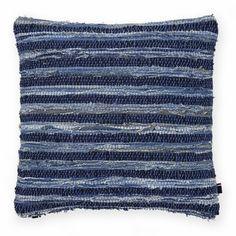 Rag Rug Decorative Throw Pillow