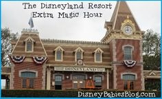 The Ins and Outs of Disneyland's Extra Magic Hour