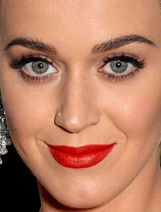 katy perry - more close-ups of katy can be found here katy perry red carpet makeup celeb celebrity celebritycloseup