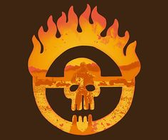 Mad Max Fury Road Skull Logo T-Shirt