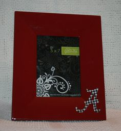 5 x 7 Alabama Picture Frame by ForeverBFs on Etsy, $23.50