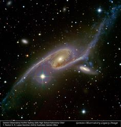 Spiral galaxy NGC 6827