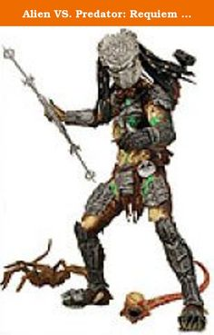Alien VS. Predator: Requiem NECA Action Figure Series 4 Battle Damaged Masked Predator. Alien VS. Predator: Requiem NECA Action Figure Series 4 Battle Damaged Masked Predator.
