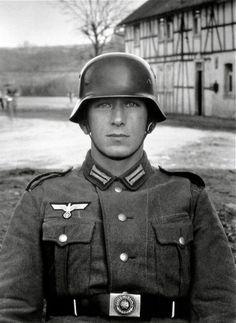 August Sander, Soldier, Germany, 1940