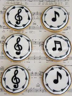 Music note cake ideas sugar cookies 30 new Ideas Fancy Cookies, Iced Cookies, Cute Cookies, Royal Icing Cookies, Cupcake Cookies, Sugar Cookies, Cookies Decorados, Galletas Cookies, Music Note Cake