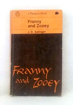 Franny and Zooey by Jerome David Salinger first Penguin print vintage paperback Book Cover Art, Book Covers, Robert Louis Stevenson Books, Vintage Penguin, Penguin Books, Vintage Books, Penguins, David, Ebay