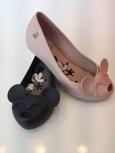 Fashion And Comfort Meet In These Mickey Mouse Shoes By Melissa!