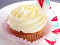 Coconut Cupcakes mit Vanilla-Frosting