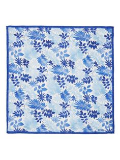 Forest Floral Pocket Square by Luca Roda at Gilt