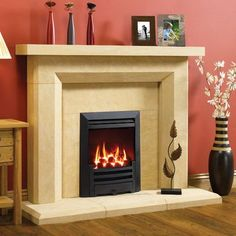 Gazco Logic HE Arts Gas Fire - Stanningley Firesides
