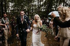 Moody Protea-filled Forest Wedding at De la Mas by Chris de Wet Forest Wedding, Lace Wedding, Wedding Dresses, Weddings, Bride, Fashion, Bride Dresses, Wedding Bride, Moda