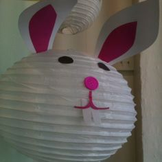 Bunnies for an Easter window