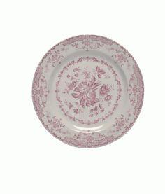 Σερβίτσιο φαγητού ροζ σετ 20 τμχ. Rose Collection