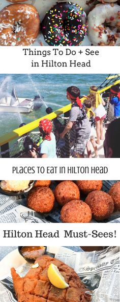 Hilton Head Island Travel Tips and Must-Sees! Not to miss restaurants, donuts, beaches, and family-friendly attractions included!