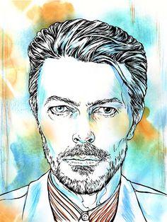 'David Bowie' by Delphine Cauly (été 1981)
