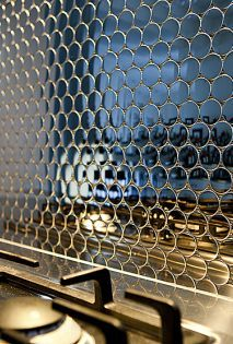 Kitchen Tiles Australia metal tiles + mosaicsalloy - selector australia | interiors