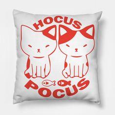 Hocus Pocus - Hocus Pocus - Pillow | TeePublic Pillow Cover Design, Pillow Covers, Designer Pillow, Hocus Pocus, Throw Pillows, Pillow Design, Pillow Case Dresses, Cushions, Pillow Protectors