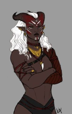 f Tiefling Sorcerer tower urban dashing qunari butts : Photo Dungeons And Dragons, Rpg Character, Character Design, Character Inspiration, Character Portraits, Fantasy Creatures, Dragon Age Games, Fantasy Inspiration, Dragon Age Series