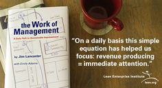 For this special bonus content, check out these quotes from the new book, The Work of Management. We've included links for easy tweeting, so share away and get inspired to hone your own management systems.