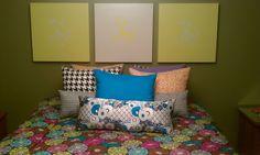 Lack Table Head board - IKEA Hackers, art idea for spencer or ryan's room