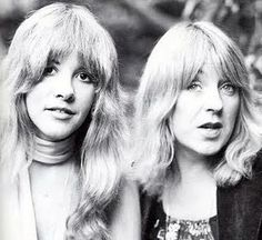 Stevie Nicks and Christine McVie in the glory days of Fleetwood Mac.
