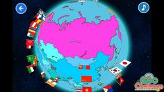 A view of Russia in the Geo Challenge app from the Sumahomama Team  https://itunes.apple.com/us/app/geo-challenge-world-map-flag/id575809396?mt=8=1  https://play.google.com/store/apps/details?id=air.jp.co.xing.chizukokki